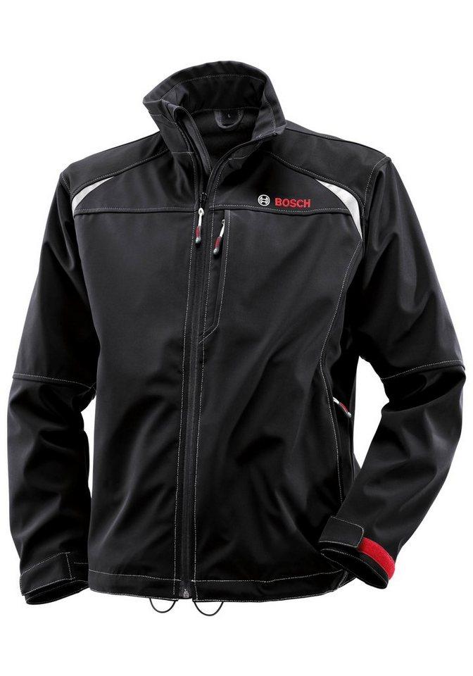 Softshell-Jacke in schwarz