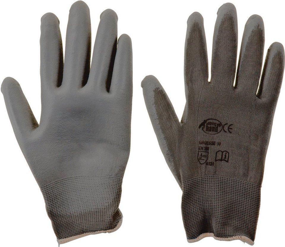 Handschuhe (6 Stück) in schwarz