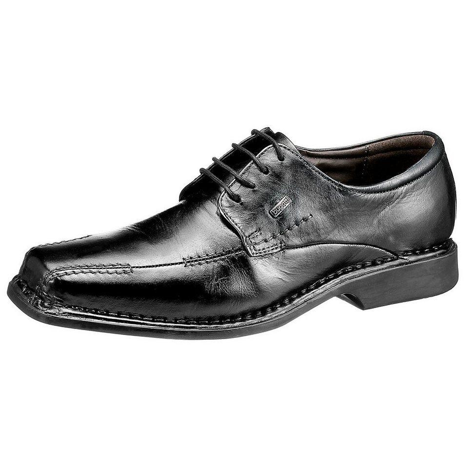 bugatti Business Schuhe extraweit in schwarz