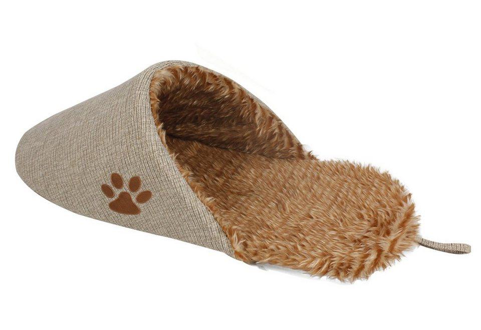 Katzen-Kuschelschuh »Cat Relax« in beige/braun