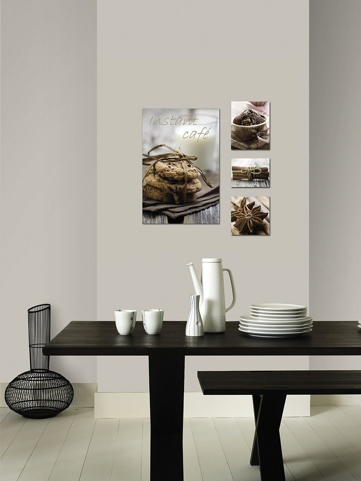 Leinwandbilder »Cookies«, 5-tlg. in bunt