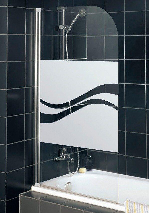 Badewannenaufsatz »Liane« in alufarben