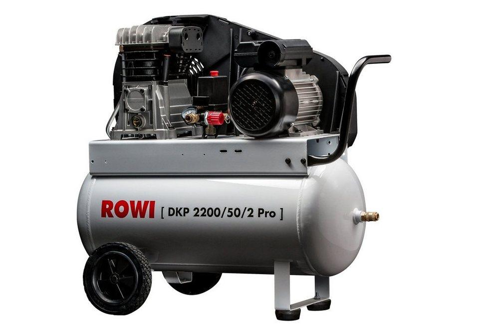 Kompressor »2200/50/2« in weiß
