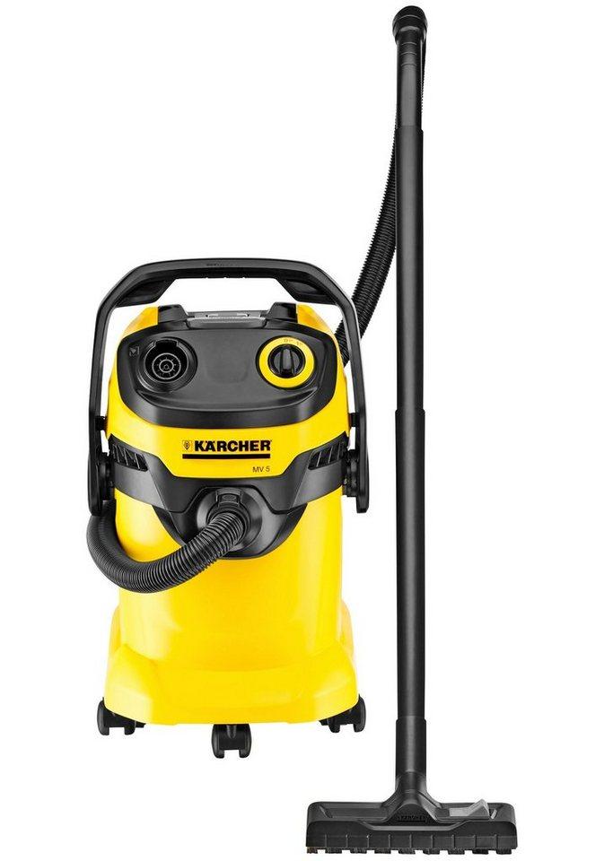 Nass-/Trockensauger »WD 5« in gelb