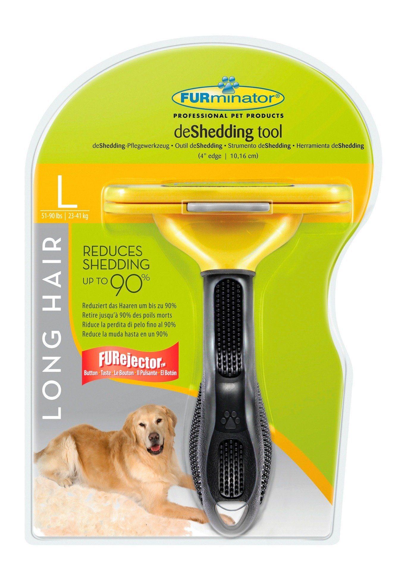 Hundepflegebürste »FURminator - deShedding Long Hair L«
