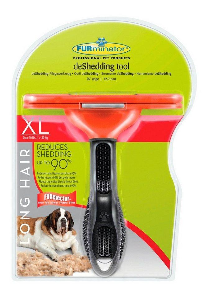 Hundepflegebürste »FURminator deShedding Langhaar XL« in rot