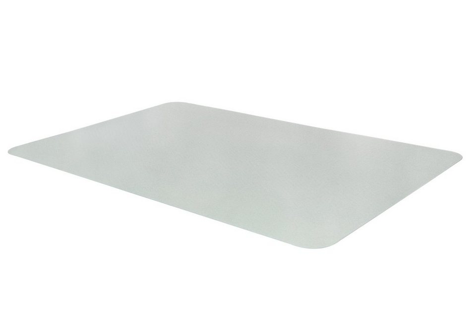 Bodenschutzmatte/Bürostuhlmatte in transparent