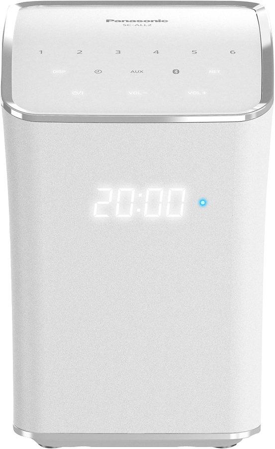 Panasonic SC-ALL2EG-W Lautsprecher (Multiroom, Bluetooth, WiFi) in weiß
