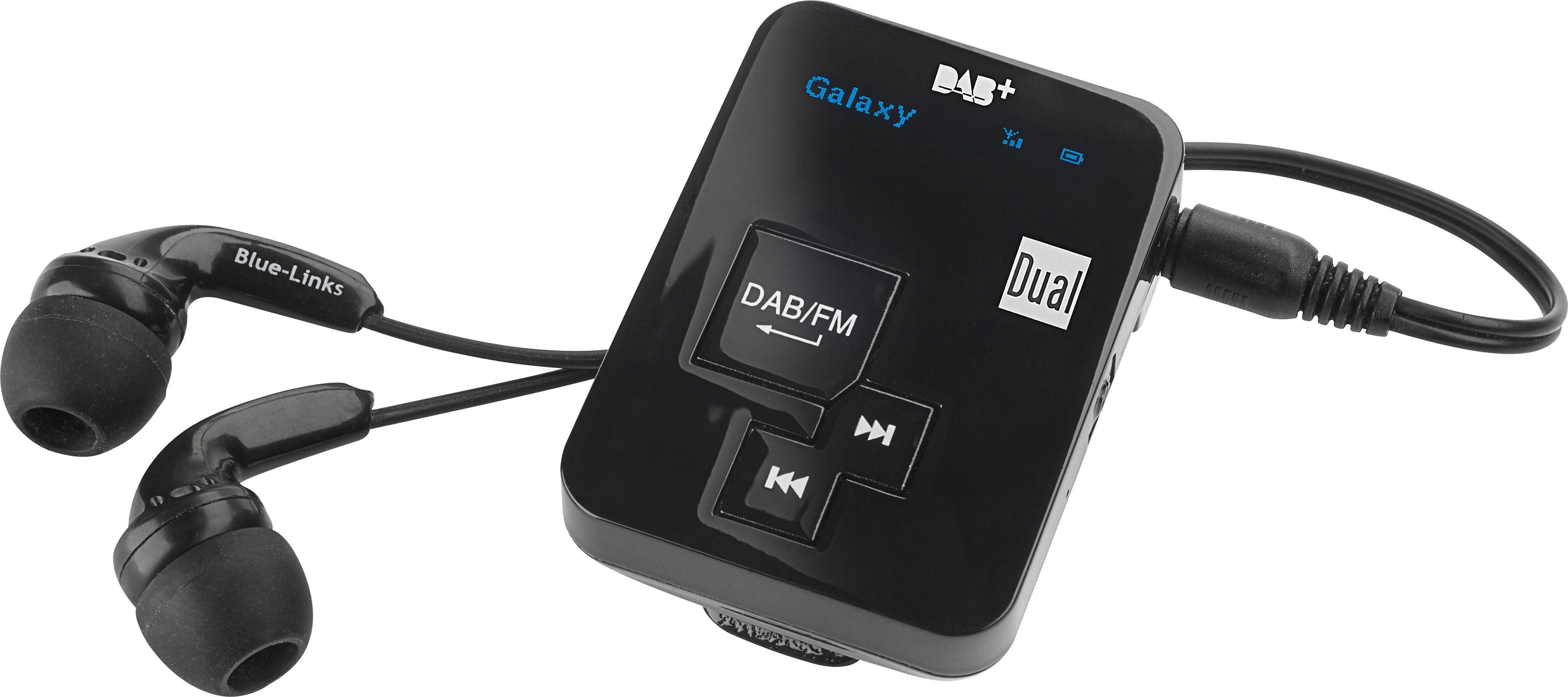 Dual DAB Pocket Radio 2 Portables Digitalradio mit Akku Radio