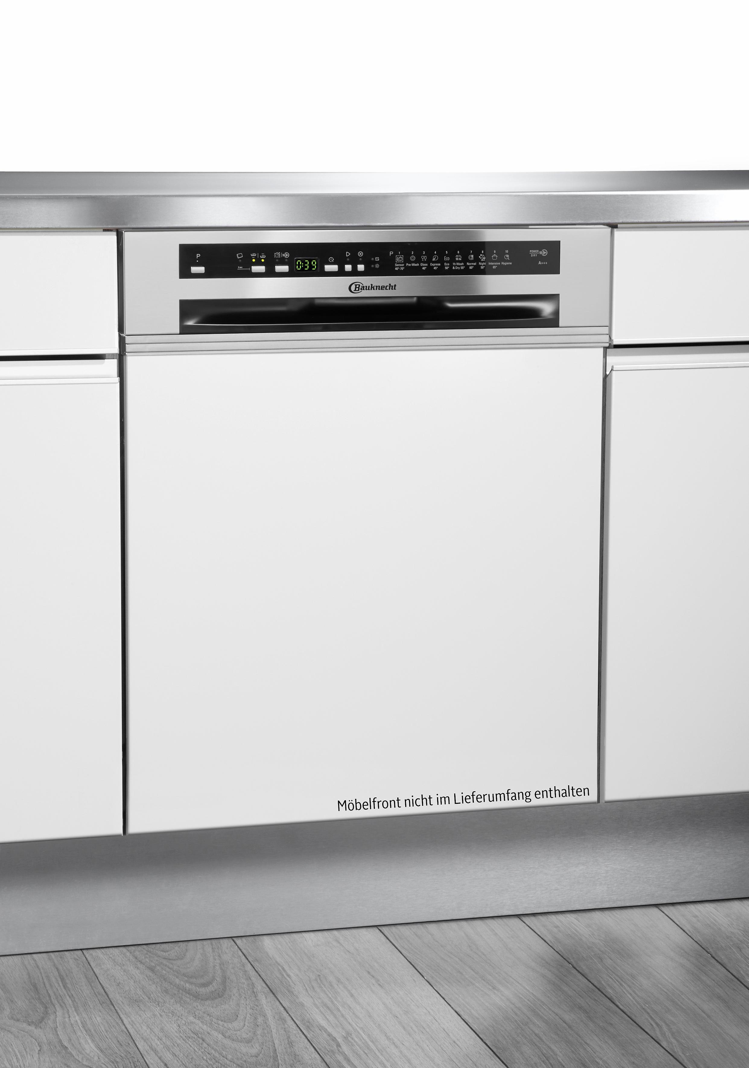 Bauknecht integrierbarer Einbaugeschirrspüler GSI 102414 A+++ IN, 10 Liter, 13 Maßgedecke