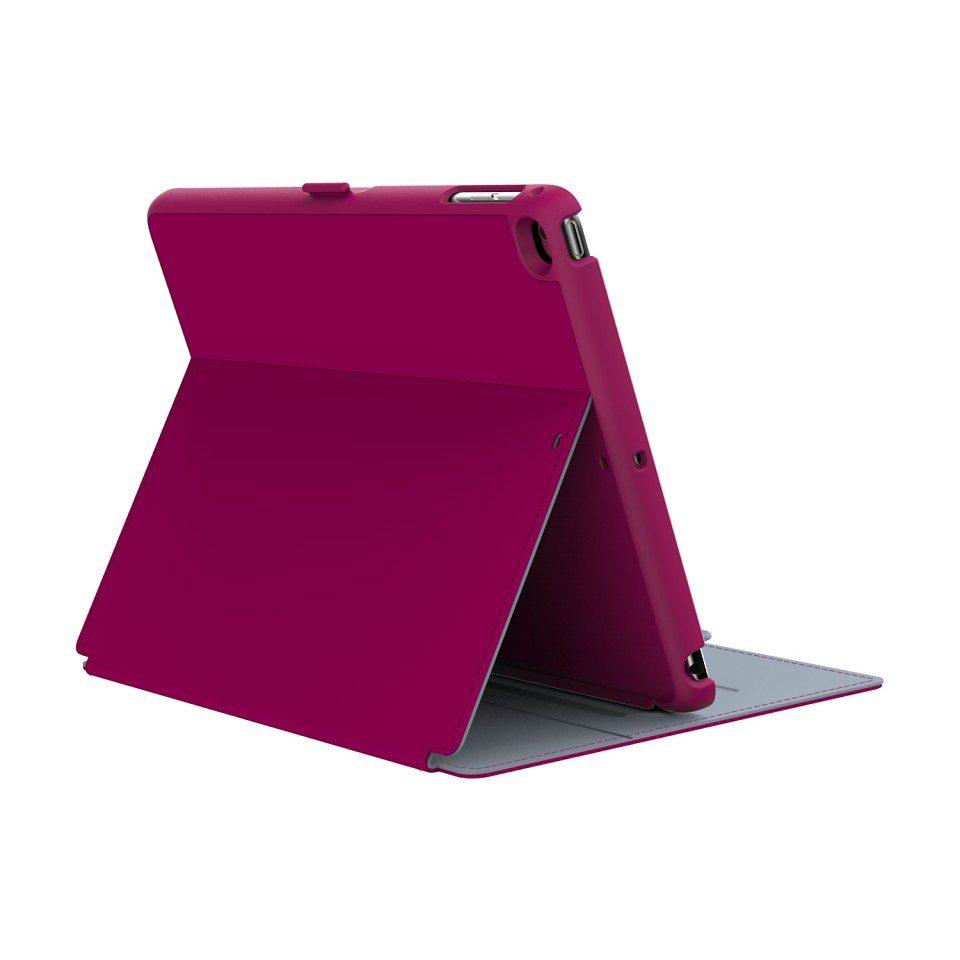 Speck HardCase »StyleFolio iPad Air (1/2) Fuchsia Pink/Nickel Grey« in pink