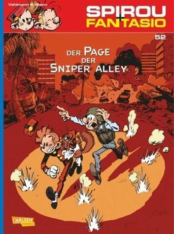 Broschiertes Buch »Der Page der Sniper Alley / Spirou + Fantasio...«