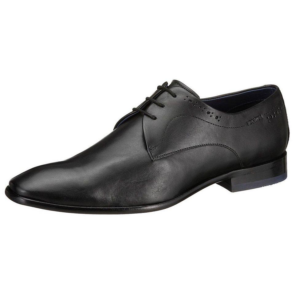 DANIEL HECHTER Business Schuhe in schwarz