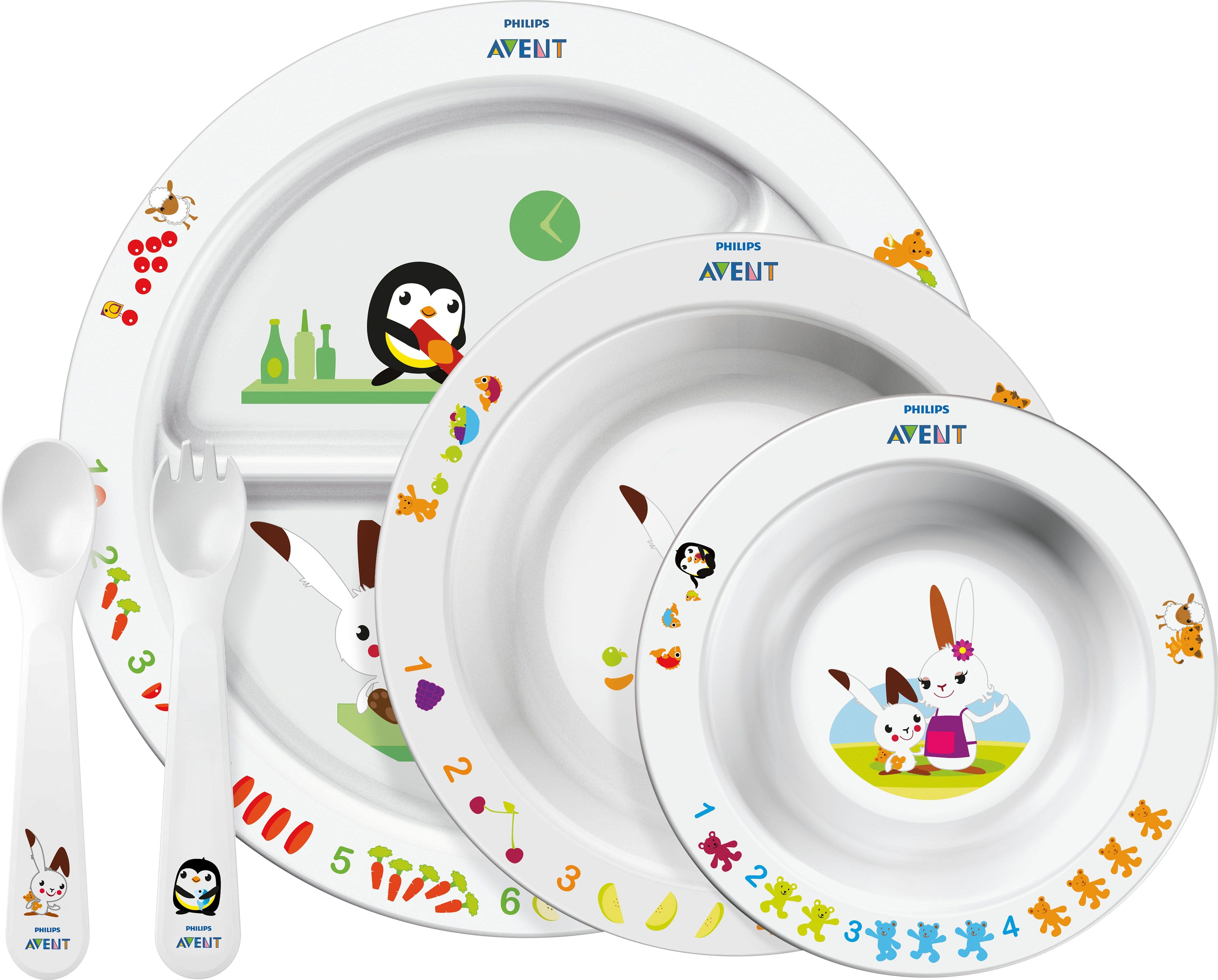 Philips Avent Ess-Lern-Set SCF716/00 für Kinder ab 6 Monaten