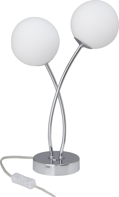 Tischleuchte, LED, 2 flammig, Brilliant G39642/75