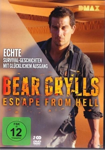 DVD »Bear Grylls - Escape from Hell (2 Discs)«