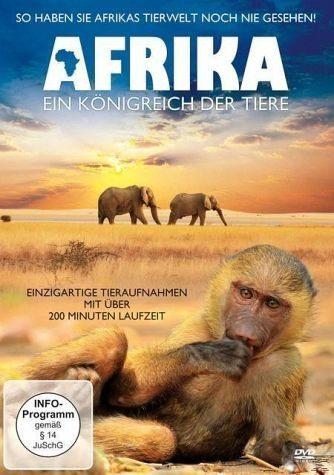 DVD »Afrika - Ein Königreich der Tiere«