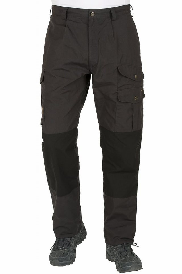 Fjällräven Outdoorhose »Barents Trousers Men« in schwarz