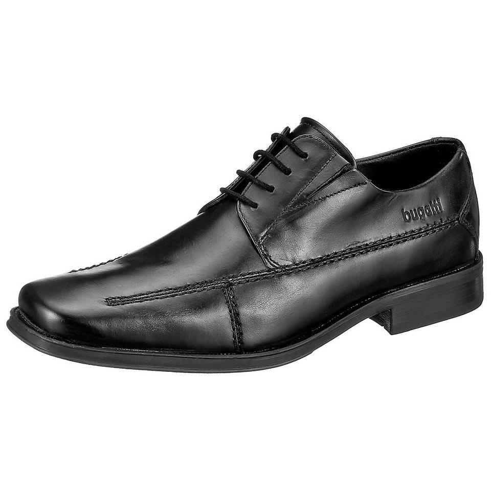 bugatti Business Schuhe in schwarz