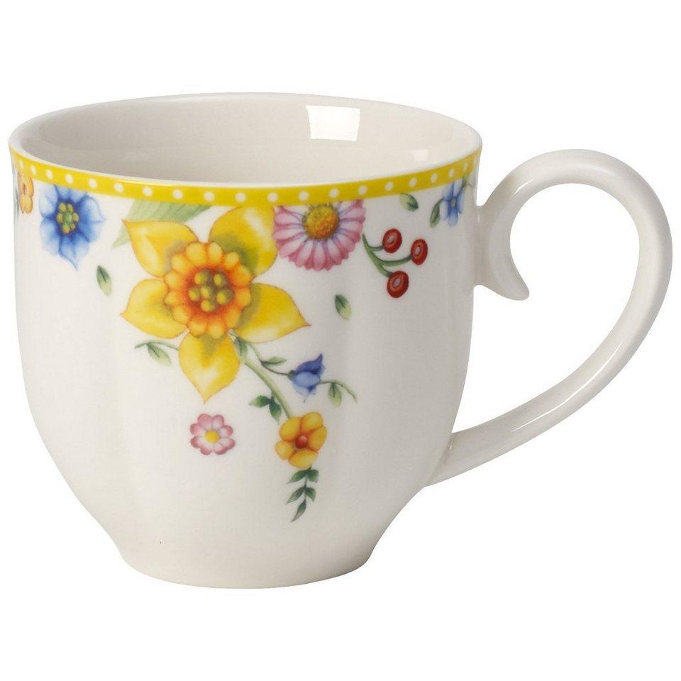 Villeroy & Boch Kaffeeobertasse »Spring Awakening« in Dekoriert