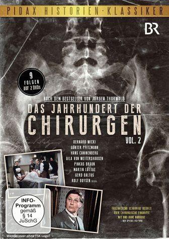 DVD »Das Jahrhundert der Chirurgen - Vol.2 (2 Discs)«