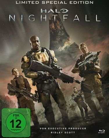 Blu-ray »Halo: Nightfall (Limited Special Edition,...«