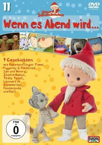 DVD »Unser Sandmännchen Folge 11 - Wenn es Abend wird«
