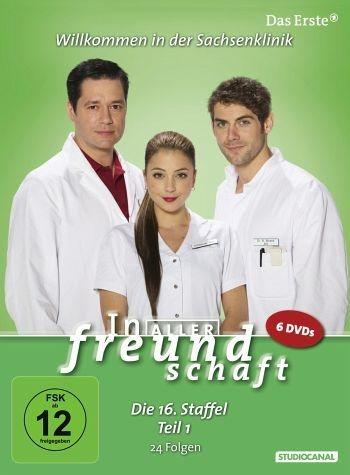 DVD »In aller Freundschaft - 16. Staffel - Teil 1«