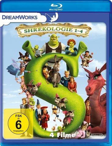 Blu-ray »Shrek - Die komplette Geschichte, Teil 1-4 (4...«
