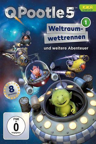 DVD »Q Pootle 5, Vol. 1 - Weltraumrennen«
