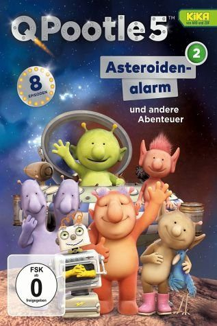 DVD »Q Pootle 5, Vol. 2 - Groobie auf Rettungsflug«