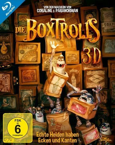 Blu-ray »Die Boxtrolls (Blu-ray 3D)«