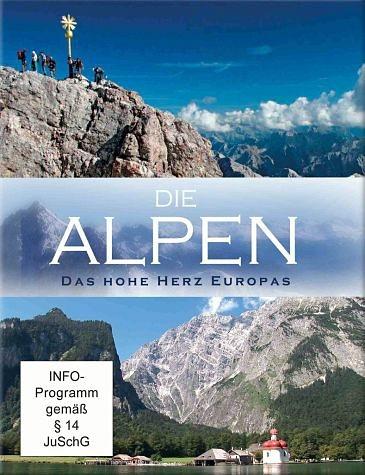 DVD »Die Alpen - Das hohe Herz Europas (2 Discs)«