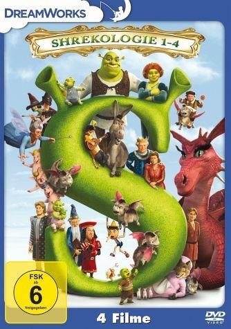 DVD »Shrek - Die komplette Geschichte, Teil 1-4 (4...«