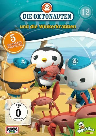 DVD »Die Oktonauten... und die Winterkrabben«