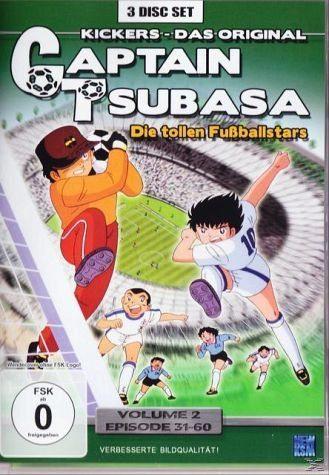DVD »Captain Tsubasa - Die tollen Fußballstars -...«