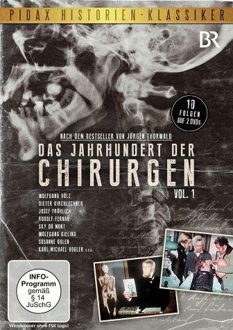 DVD »Das Jahrhundert der Chirurgen - Vol.1 (2 Discs)«