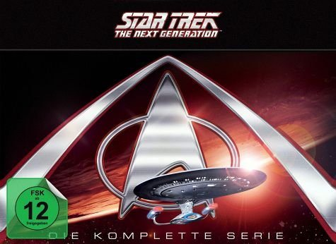 DVD »Star Trek - The Next Generation: Die komplette...«