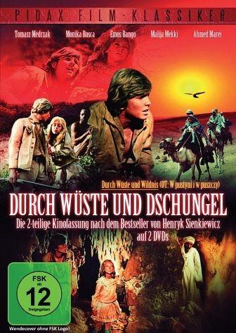 DVD »Durch Wüste und Dschungel (2 Discs)«