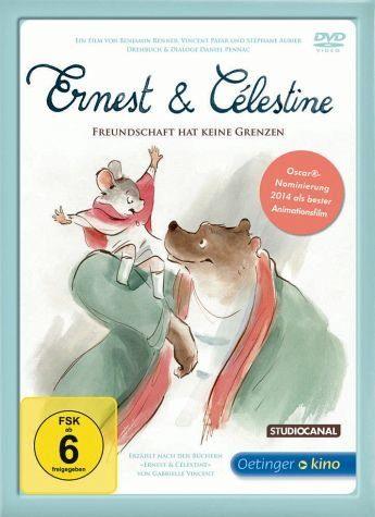 DVD »Ernest & Célestine (nur für den Buchhandel)«