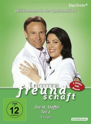 DVD »In aller Freundschaft - Die 16. Staffel, Teil...«