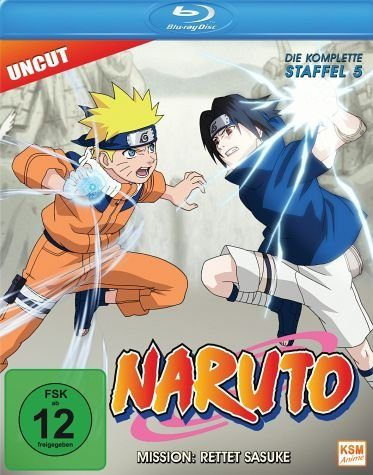 Blu-ray »Naruto - Die komplette Staffel 5«