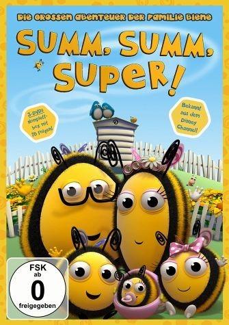 DVD »Summ, summ, super! - Die großen Abenteuer der...«