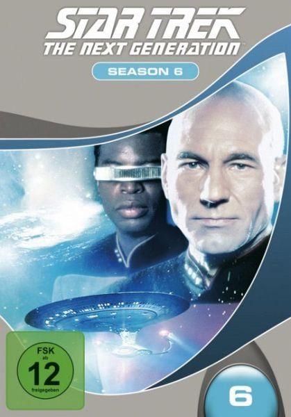 DVD »Star Trek - The Next Generation: Season 6 (7...«