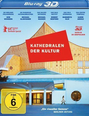 Blu-ray »Kathedralen der Kultur (Blu-ray 3D, + Blu-ray 2D)«