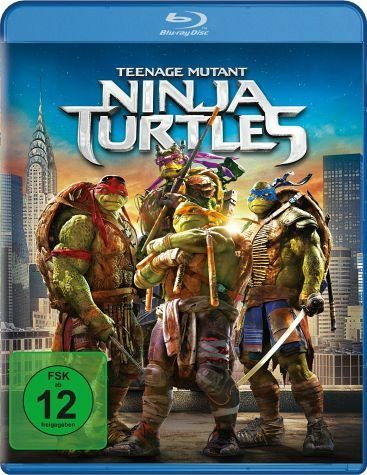 Blu-ray »Teenage Mutant Ninja Turtles«