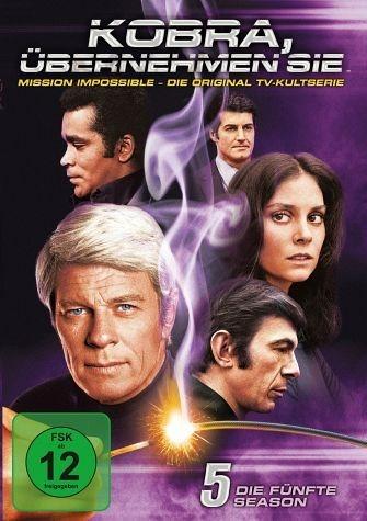 DVD »Kobra, übernehmen Sie! - Die fünfte Season (6...«