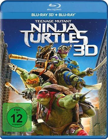 Blu-ray »Teenage Mutant Ninja Turtles 3D«