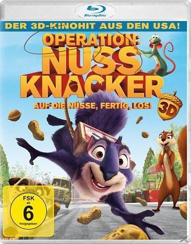 Blu-ray »Operation: Nussknacker - Auf die Nüsse,...«