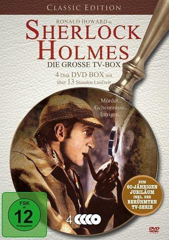DVD »Sherlock Holmes - Die große TV-Box (4 Discs)«